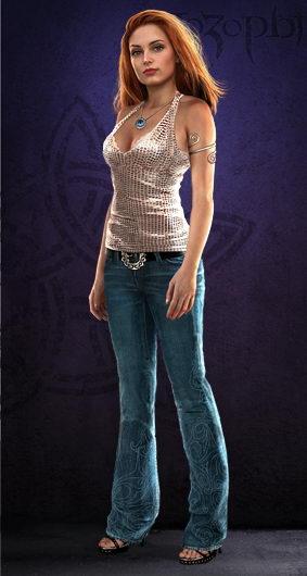 Готовые Аватары для персонажей Avatar_women_jeans_red_n